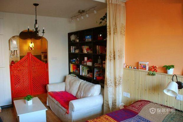 客厅卧室一空间 异域风情混搭家