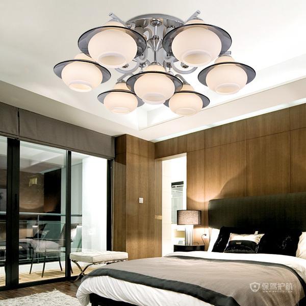 灯具现代简约卧室吸顶灯卧室灯,细节凸显艺术效果。