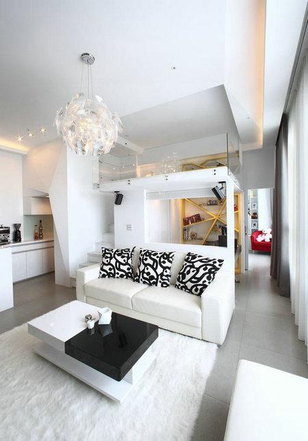 白色宫殿 优雅小女人单身公寓