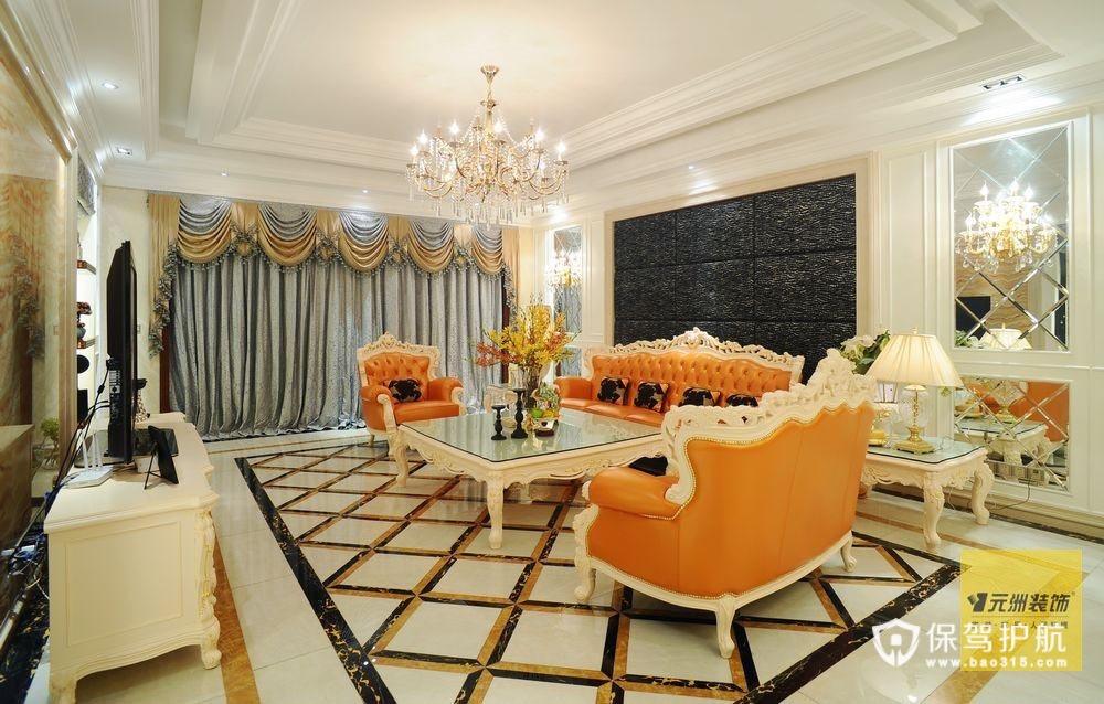 欧式新古典风格 300平精致别墅