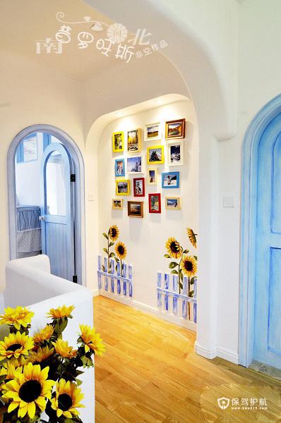 地中海风格特辑 13组精选地中海背景墙效果图