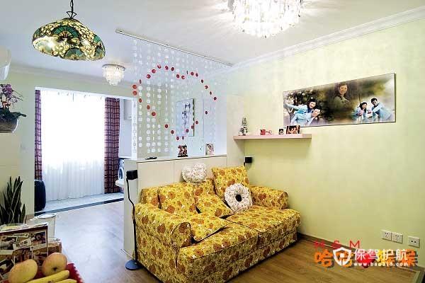 田园控的混搭家 优雅一居室婚房