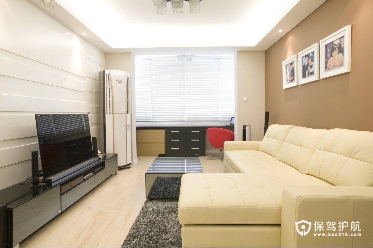 清新简约家 共同打造精致一居室