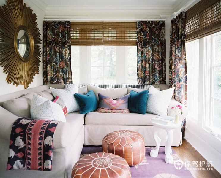 美式客厅 30个美式风格沙发搭配方案 美式风格,客厅,沙发