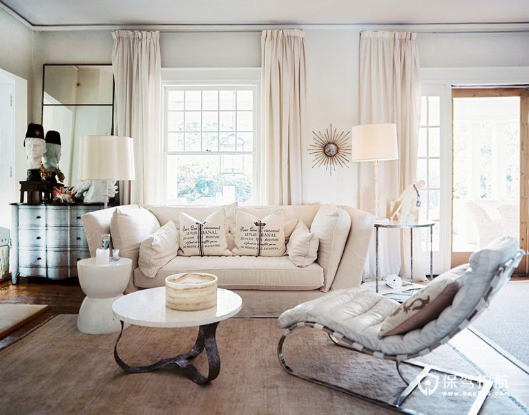 美式客厅 30个美式风格沙发搭配方案 美式风格,客厅,沙发,茶几