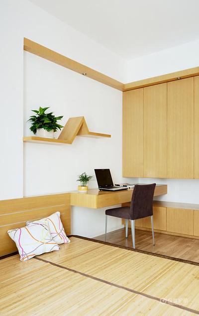 100平日式简约风二居公寓卧室装修效果图