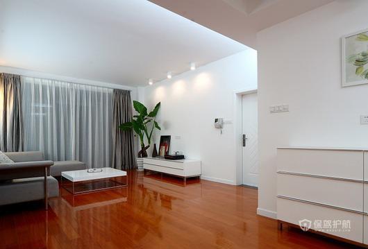 现代简约风格两室一厅公寓40平米客厅射灯装修效果图
