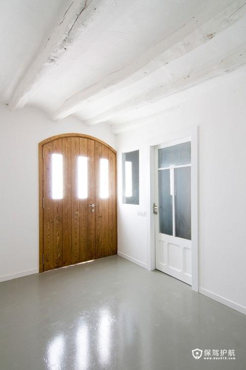 简洁古朴一居室 清新别墅家