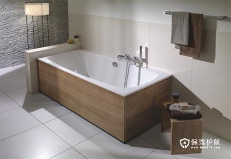 7款简洁浴室设计 享受精致生活