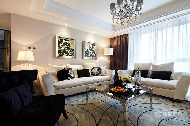 11万装出低调小奢华 现代时尚三居室