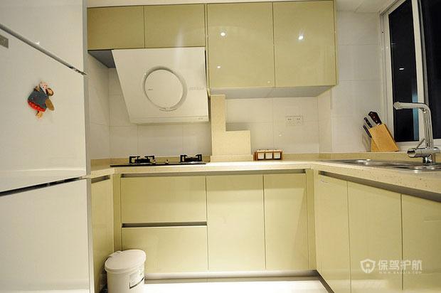 50平宜家风二居室厨房橱柜装修效果图