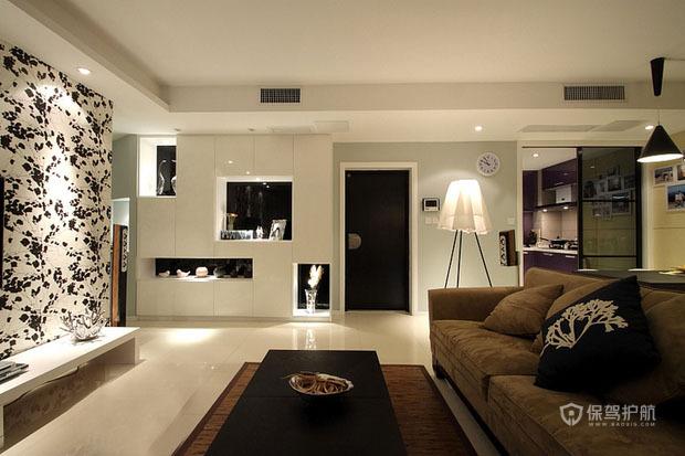 不规则格局设计 打造时尚现代婚房
