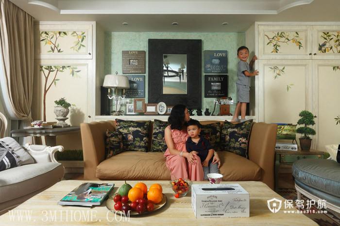 三米设计-浪漫小田园 准妈妈的幸福生活