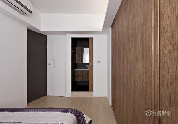 简约风格公寓二居室装修效果图