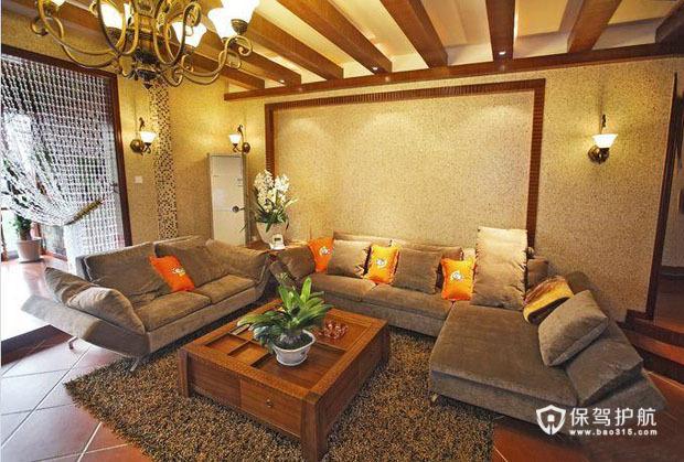 紫色浪漫主卧设计 混搭二居室