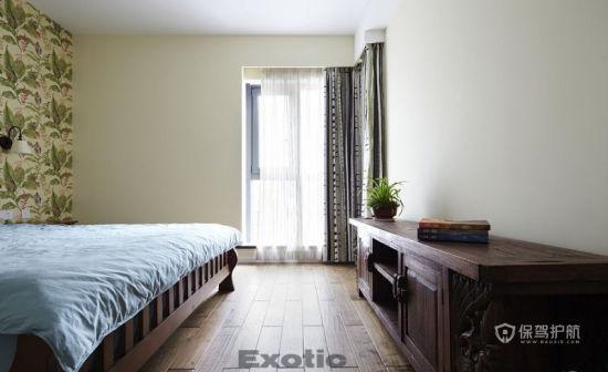 两室一厅简约风格20平卧室墙面装修效果图