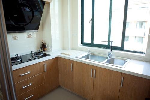 140平溫暖日式原木風小復式廚房裝修…