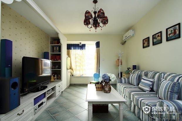 地中海风格一居室 混搭别致家