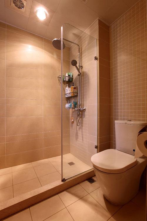 110平簡約二室二廳衛生間隔斷裝修效…