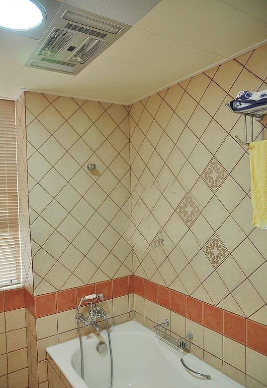 英式鄉村風格兩室兩廳5平米衛生間瓷…