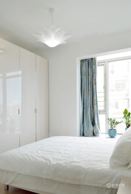 120平简约一居室卧室装修效果图