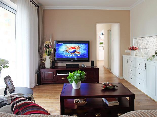中式风格三室两厅经济型户型20平米客…