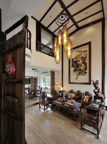 古朴唯美 百万打造绝色中国风别墅