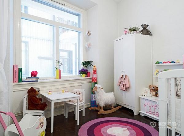 78平清新简欧公寓儿童房装修效果图