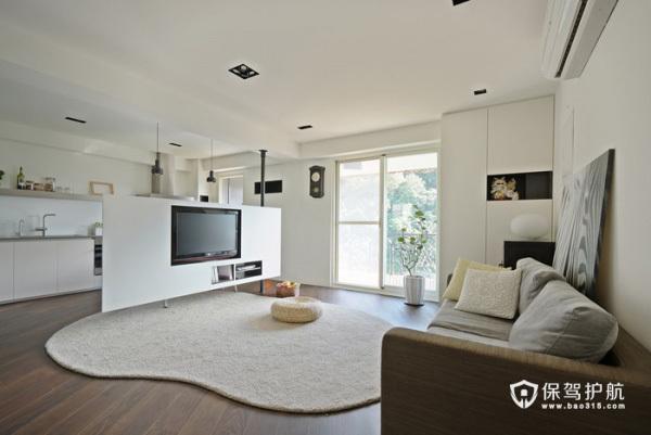 白静素雅 简约经济型单身公寓