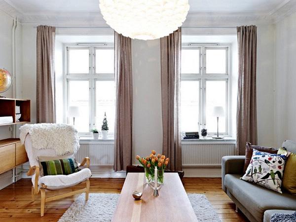 清新壁纸 86平北欧风公寓