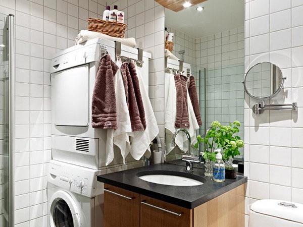 86平简欧风格公寓卫生间装修效果图