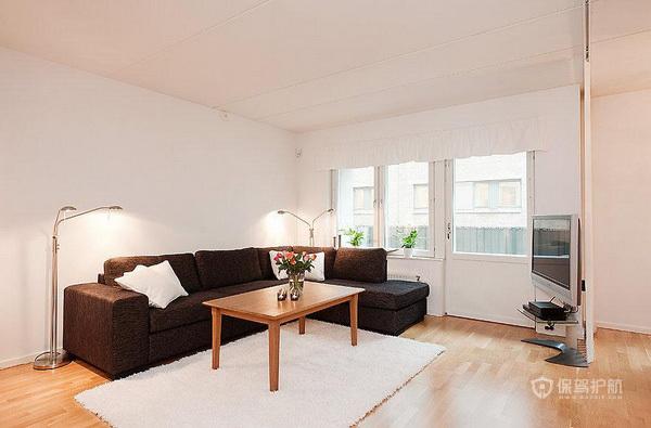 自然清新 112平简约公寓