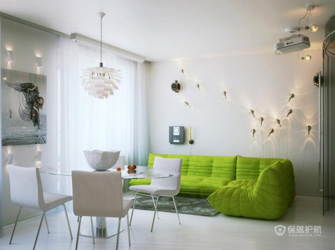 时尚清新 圣彼得堡单身公寓