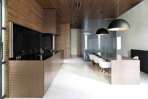 130平西班牙现代混搭公寓餐厅装修效果图
