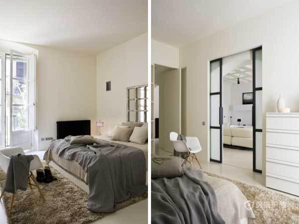 130平西班牙现代混搭公寓卧室装修效果图