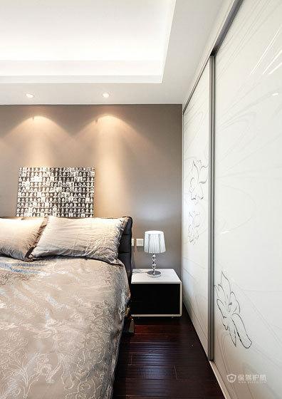 简约风格四室一厅40平米卧室石膏线装修设计效果图