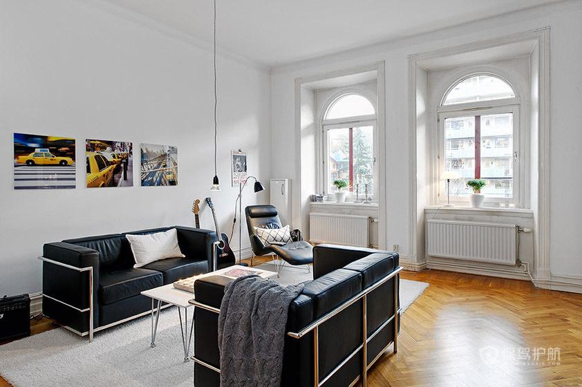 艺术者的家 阳光简约二居室