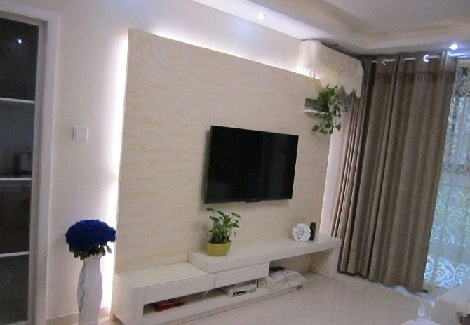 简约风格三室一厅经济型户型30平米客…