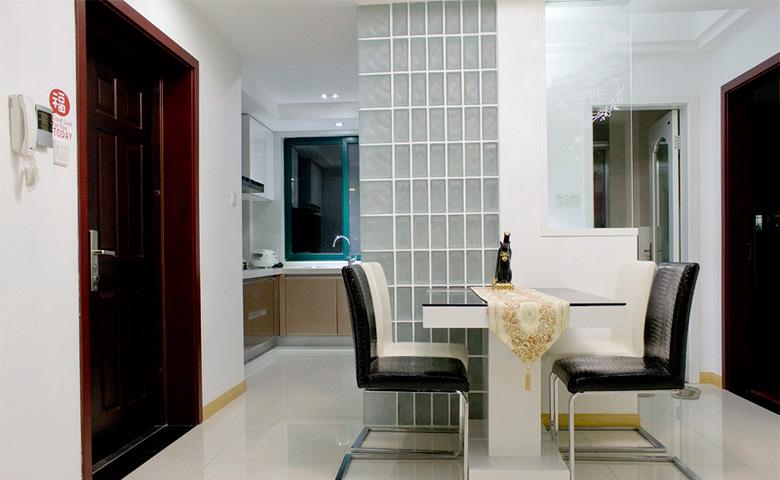 110平簡約風三居室餐廳裝修效果圖