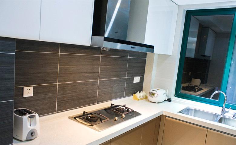 110平簡約風三居室廚房裝修效果圖