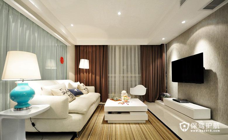 打造玻璃屋 3室1厅纯白空间
