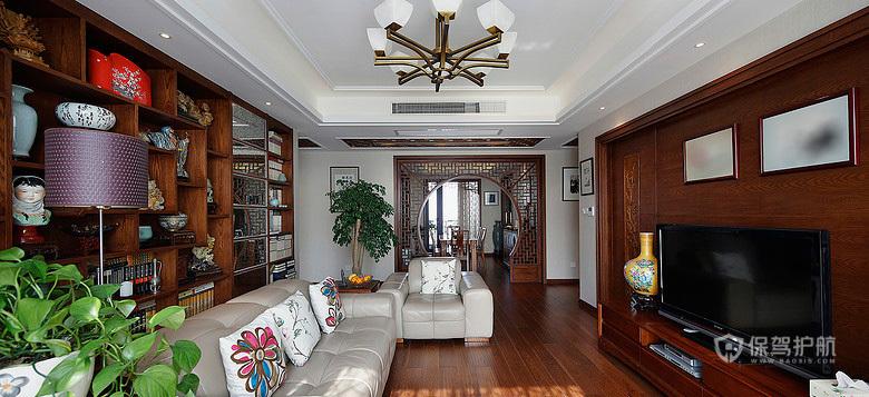 华美中国风  古色古香三居室
