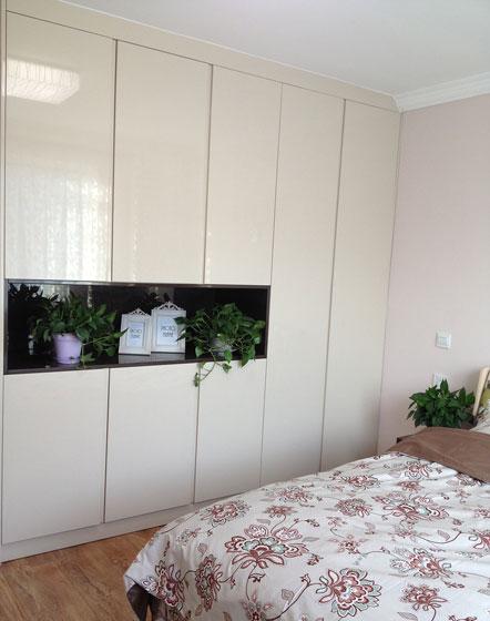 宜家风格三室两厅20平卧室衣柜效果图…
