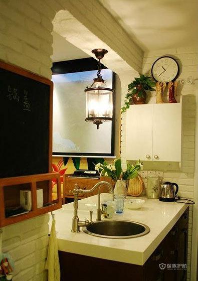 四室两厅法式风格厨房装修效果图