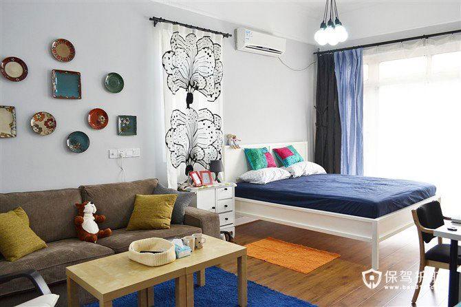 租房也可以装修 22平清新宜家风卧室