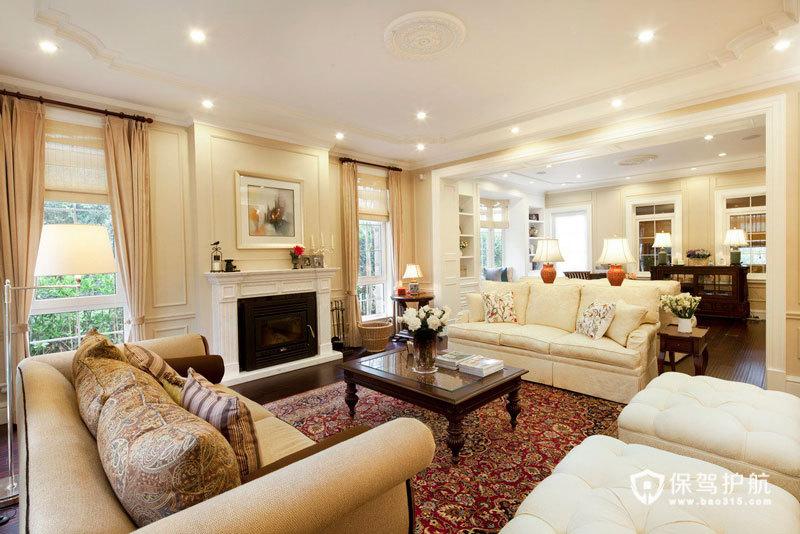 美式豪华大别墅 400平的高富帅享受