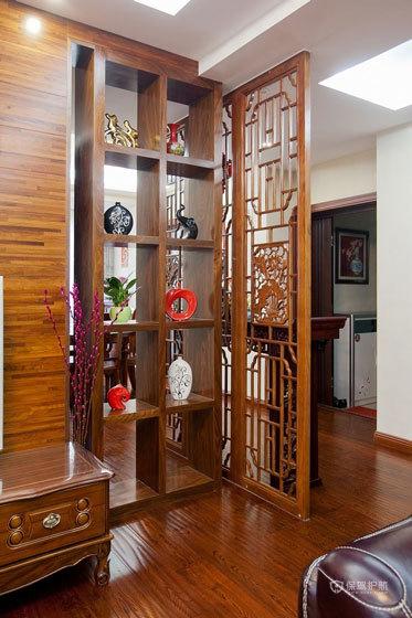 储物实用主义 120平中式木质家