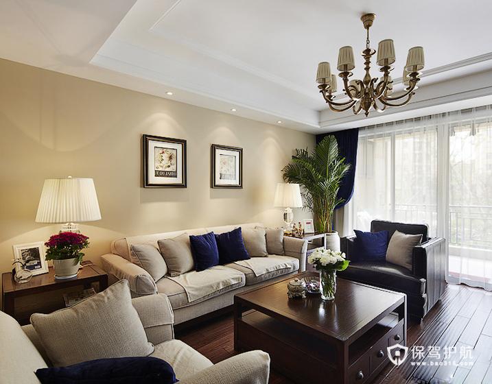 悠悠美式风情 160平温馨四室两厅