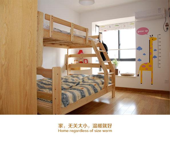 宝宝的房间,请无视那个很搓的床单,是用来档灰尘的。