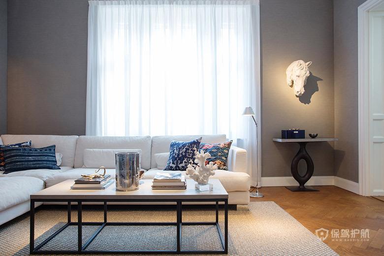 完美色彩平衡 瑞典199平大公寓 北欧风格,140平米以上装修,大户型,公寓装修,